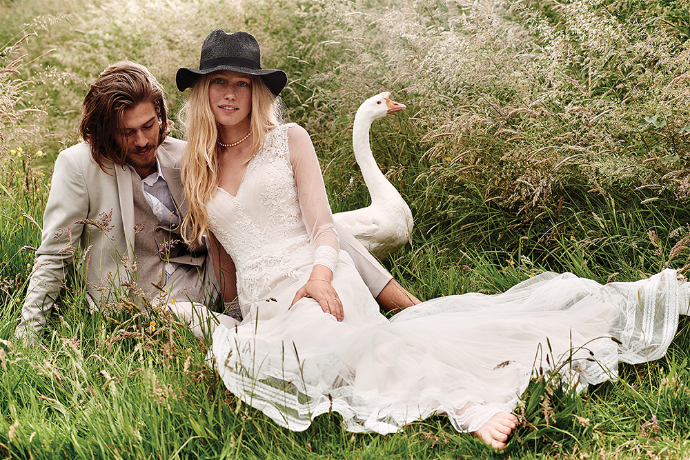 Lillian West Has Launched Her First Bridal Collection In 2014 She Also Amazing Bohemian Inspired Wedding Dresses