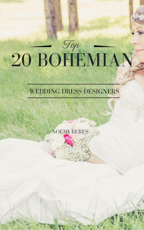 Top 20 bohemian wedding dress designers | One Boho Street