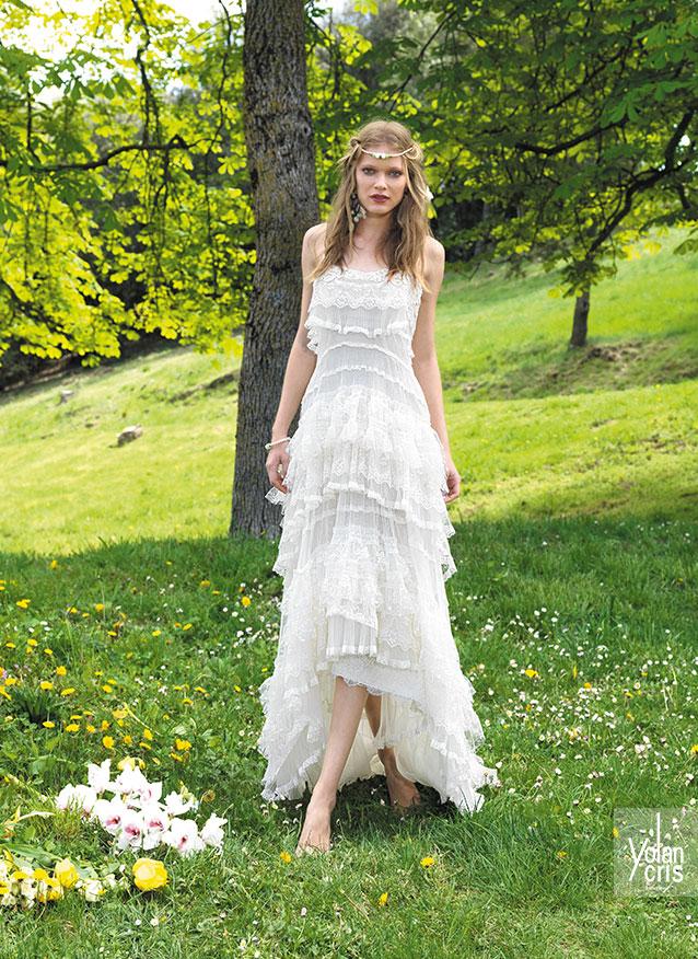 Boho Style Wedding Style Wedding Dress One Boho Street