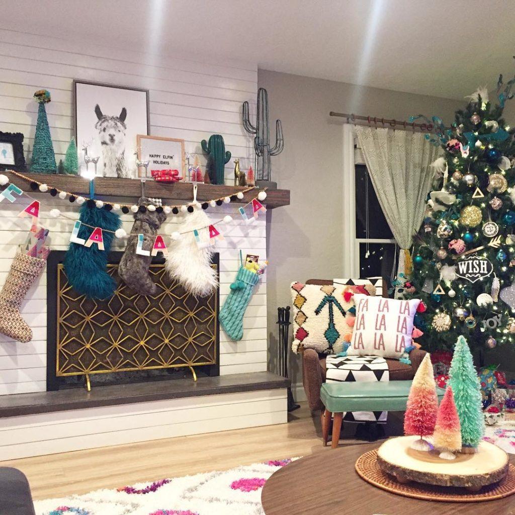 Boho Christmas Decoration Ideas One Boho Street
